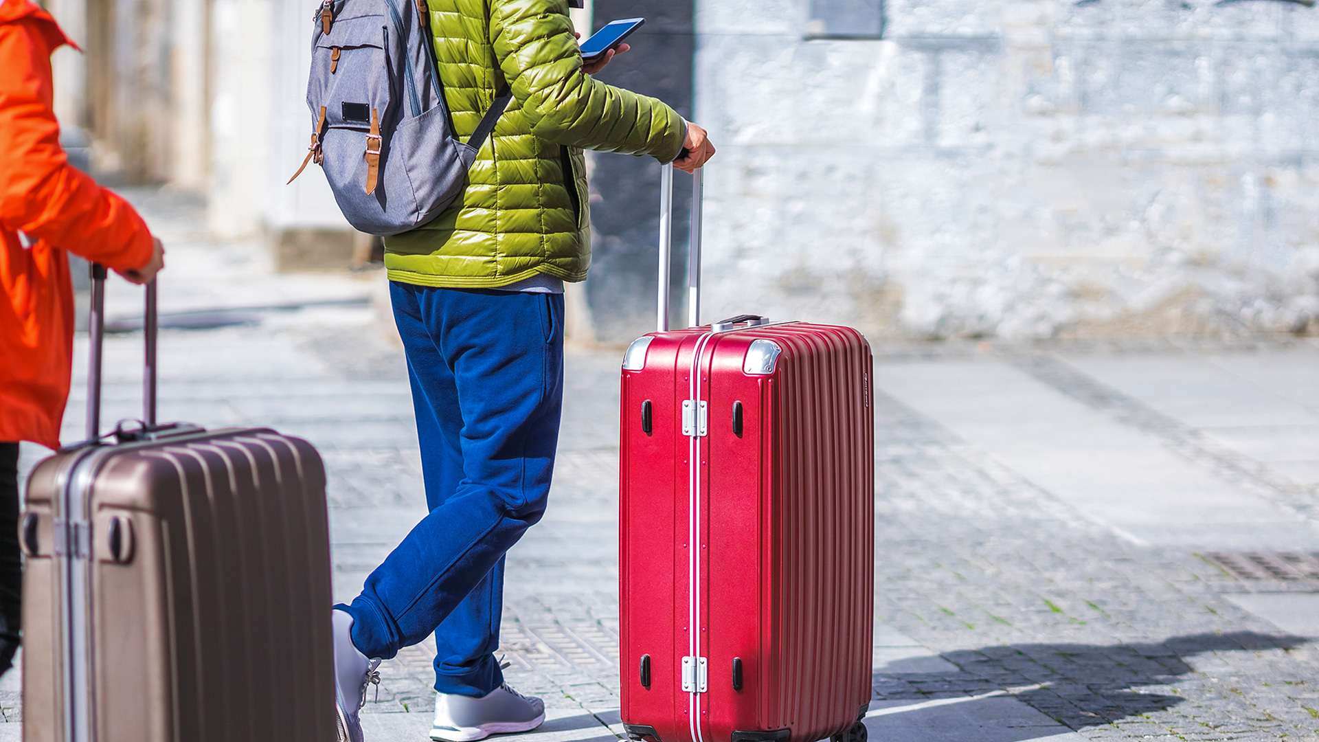 Rent out suitcases