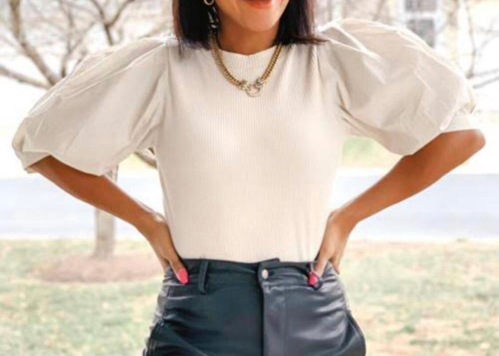 Sizzle in a Chic Victorian Sleeve Top this Holiday Season
